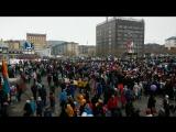Воркута 2015-05-09. День Победы, весь город вышел отмечать светлейший день.