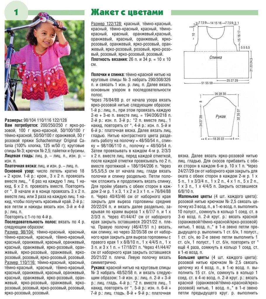 Вязание круглыми спицами для детей