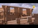 Технология строительства дома из лафета Без единого гвоздя FORUMHOUSE