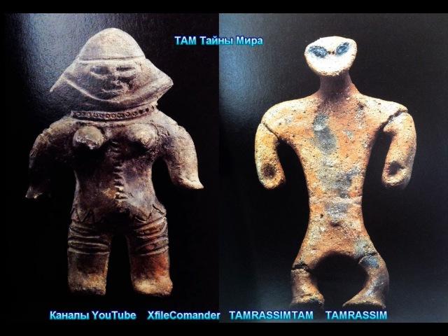 Инопланетная Япония, древние артефакты пришельцев