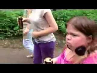 Приколы Тесак и малолетка с ягой 2014 Новое Смешно Приколы Авария ДТП Драка