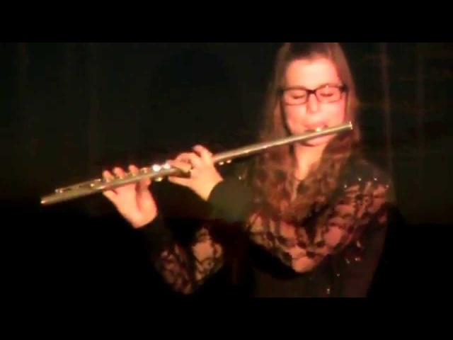 Whithin Temptation- Never Ending Story- Flute played by Rieke Köhler- cover