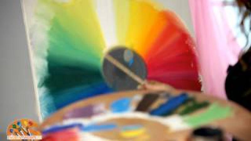 Уроки живописи маслом от Ольги Базановой: сочетание цветов в живописи маслом