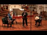 G.P. Telemann Sonata in F major, complete Gonzalo X. Ruiz, baroque oboe with Voices of Music