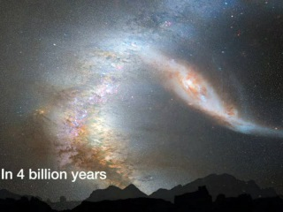 Crash of the Titans: Milky Way and Andromeda Galaxy