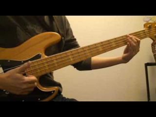 Marcus Miller Run for cover(bass cover)