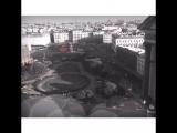 Вид на Исаакиевскую площадь с колоннады.