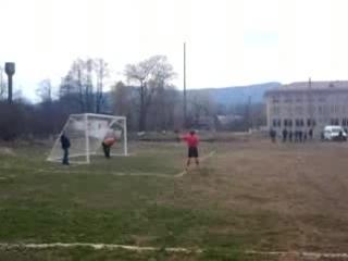 Гол з пенальті Руслана Джаврука в ворота