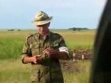 Взрыв боевой гранаты РГД-5
