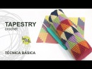 Tutorial Tapestry Jacquard Crochet o Ganchillo Técnica Básica