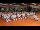 2014 09 21 Shihan Jesús Talán Shinkyokushinkai Mokuso final del Curso Técnico