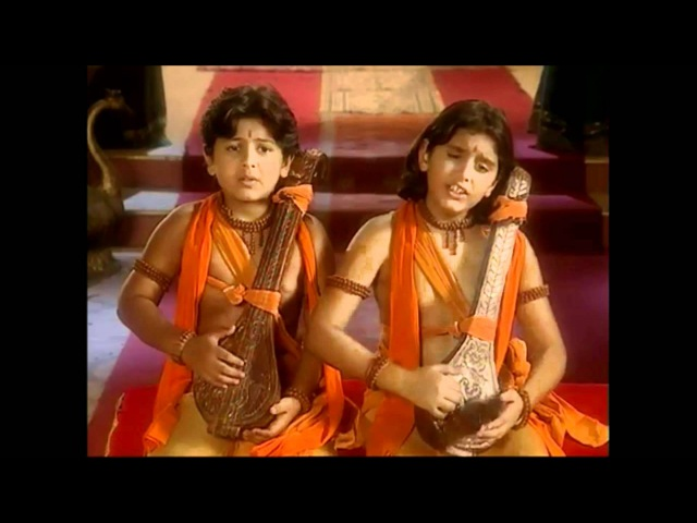 Luv Kush Singing Ramayan for Lord Rama [Full Song] Brave Sons of Mother Sita Lav and Kush Ramayana