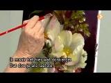видеоурок живопись маслом цветы дженкинс три белые розы