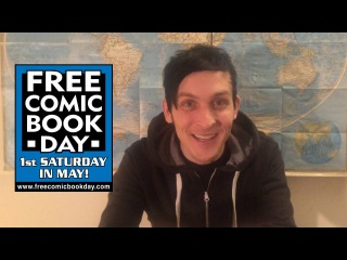 Robin Lord Taylor Wants You To Celebrate Free Comic Book Day!
