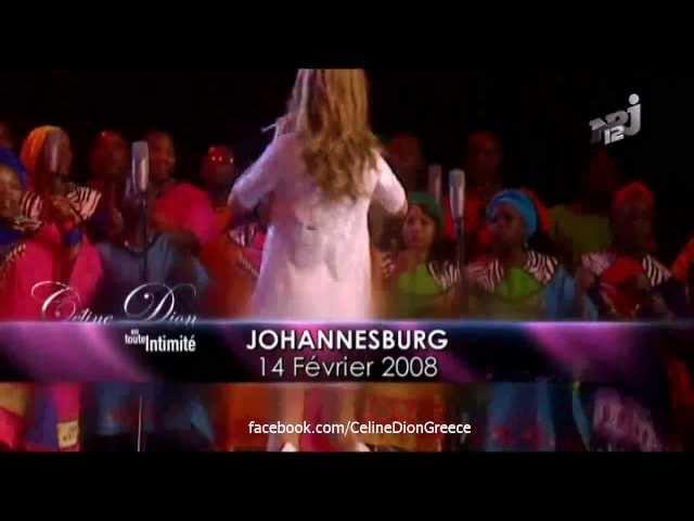 Celine Dion En Toute Intimité NRJ12 Part 3 5 HD 01 04 12