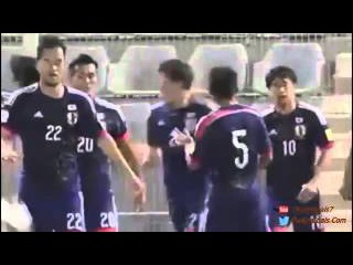 Clip Highlight World cup 2018 qualifiers Asia Syria vs Japan (0-3)(8-10-2015)