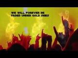 Sander van Doorn, Martin Garrix &amp DVBBS - Gold Skies (with lyrics)