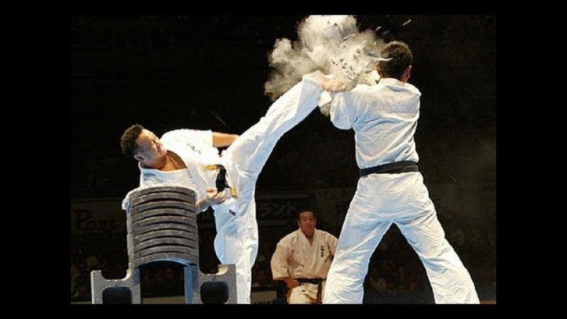 【新極真会】代表・緑健児世界大会演武 SHINKYOKUSHINKAI : KENJI MIDORI KARATE ENBU