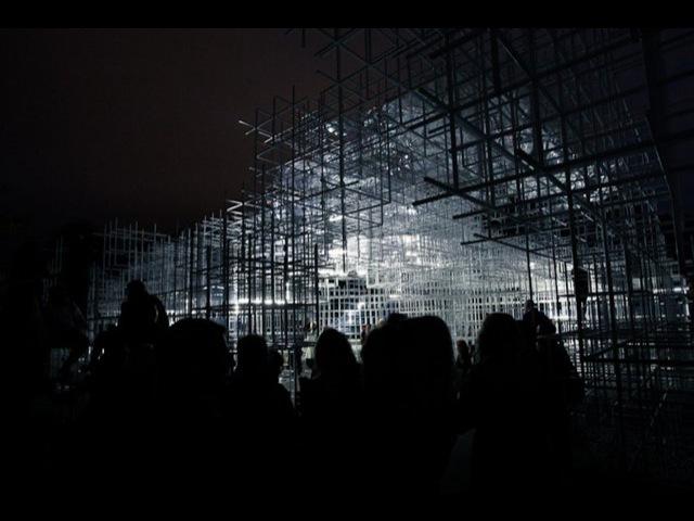 Sou Fujimoto Serpentine Pavilion Intervention