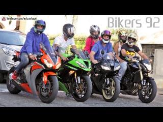 Bikers 92 - Honda Kawasaki Suzuki BMW Ducati Yamaha Best of Superbikes