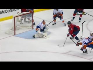 Форвард «Вашингтона» Евгений Кузнецов, забивший победный гол во всей серии.