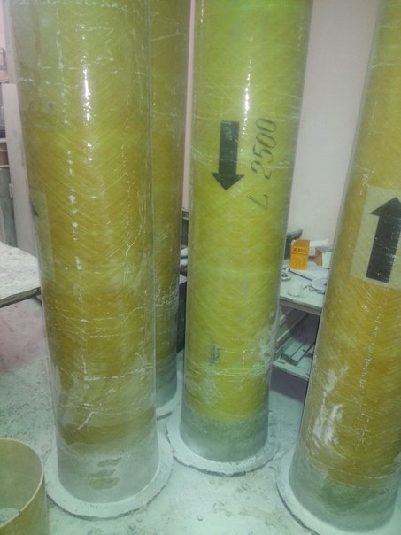 Стеклопластиковые трубы для градирен