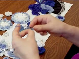 Вязание крючком в технике Фриформ - Crochet in the technique friform