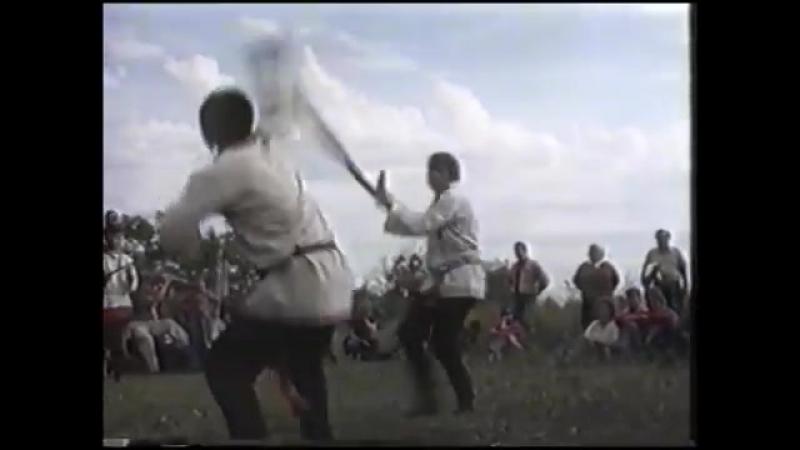 VHS Rip.1_5.Русский кулачный бой. Скобарь