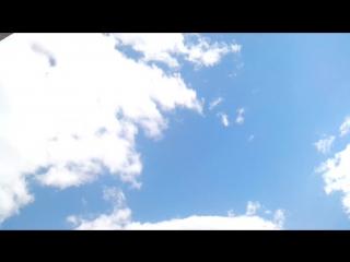 Репетиция авиационной части Парада Победы из окна СБ Банка.