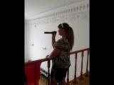 Лера Симонова - Дыши (рома кенга ремикс) COVER (репетиция)