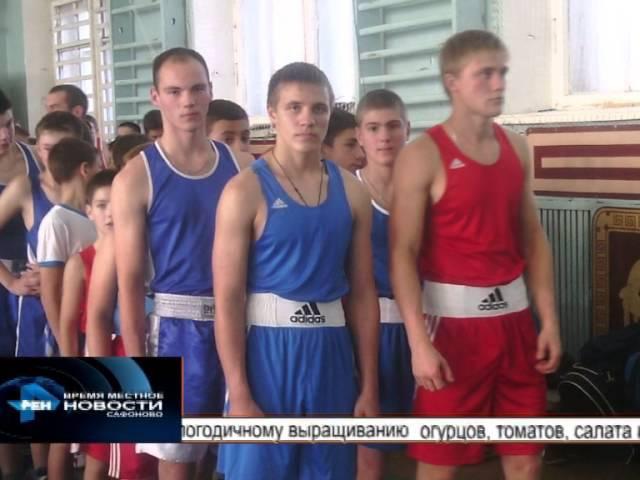 Сафоновские боксёры отлично выступили на Турнире в Смоленске