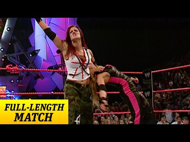 Trish Stratus vs. Lita - Women's Championship Match