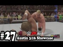 WWE 2K16 - 2K Showcase Austin 3:16 - Gameplay Walkthrough Part 27 - Austin vs Pillman [HD ]