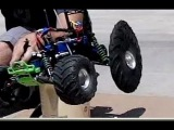 Crazy RC Tire BallOOning - Slow Motion Study