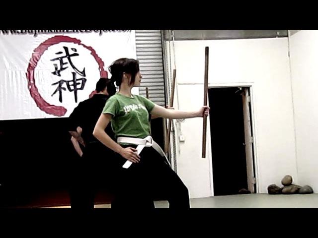 KUNOICHI TRAINING AND HANBO KAMAE