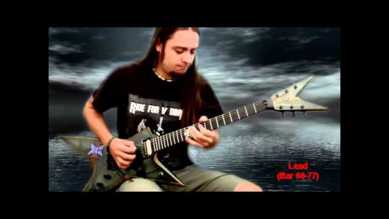 PanterA Floods solo and outro by Attila Voros of Vulgar Display Of Cover