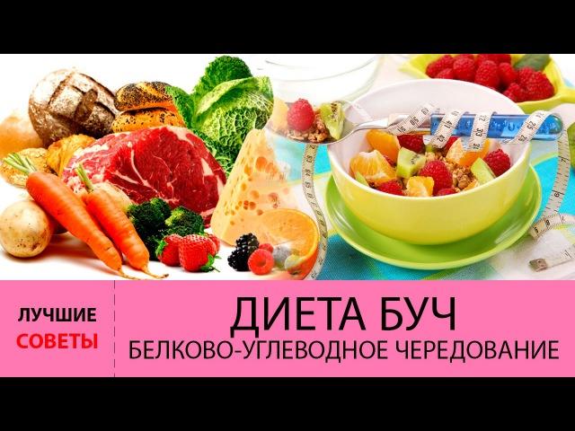 Диета БУЧ Белково Углеводное Чередование Меню диеты БУЧ на 4 дня