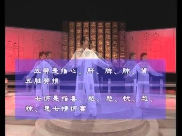 8 отрезков парчи, комментарий с переводом на русский язык от ассоциации оздоровительного цигун КНР.