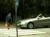 Бабка переходит дорогу (Бабушка и Мерседес)