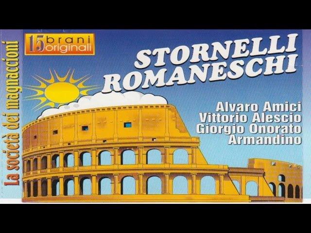 Stornelli romaneschi La società dei magnaccioni