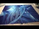 Abstrakte Malerei Full HD Sony Alpha 6000, Abstract Art Painting Demonstration, Acrylmalerei