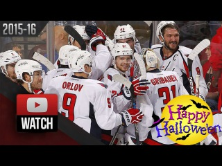 Washington Capitals Vs Florida Panthers. October 31, 2015. (HD)