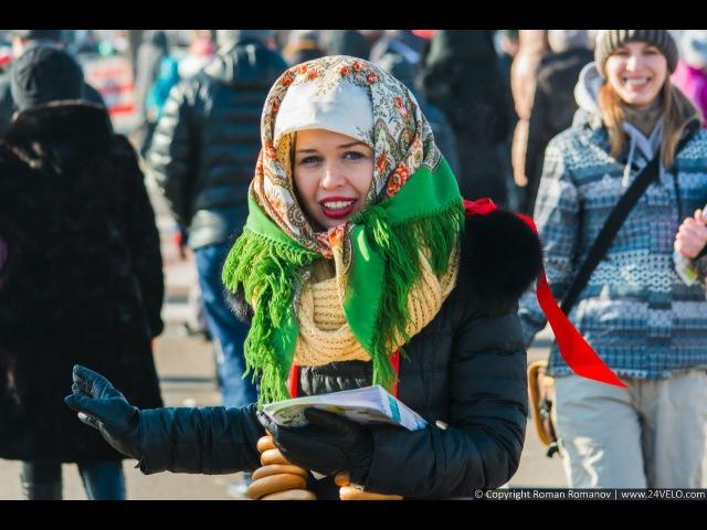 22.02.2015 - Масленица на острове Татышев в Красноярске