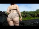 Booty Shorts in water Hawaii PAWG   WSHH _ vk.com/worldstarcandy