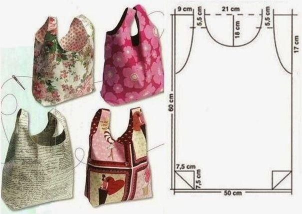 Costuras  Bolsos moldes