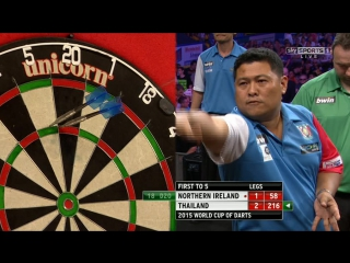 Northern Ireland vs Thailand (PDC World Cup of Darts 2015 / First Round)