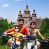Прогулки на велосипедах по острову Хортица