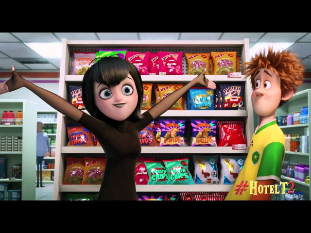 Hotel Transylvania 2 - Convenience Store | Adam Sendler, Selena Gomez