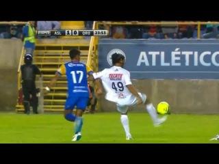 Increible Jugada De Ronaldinho - Atletico San Luis vs Queretaro 1-0 Copa MX 2015