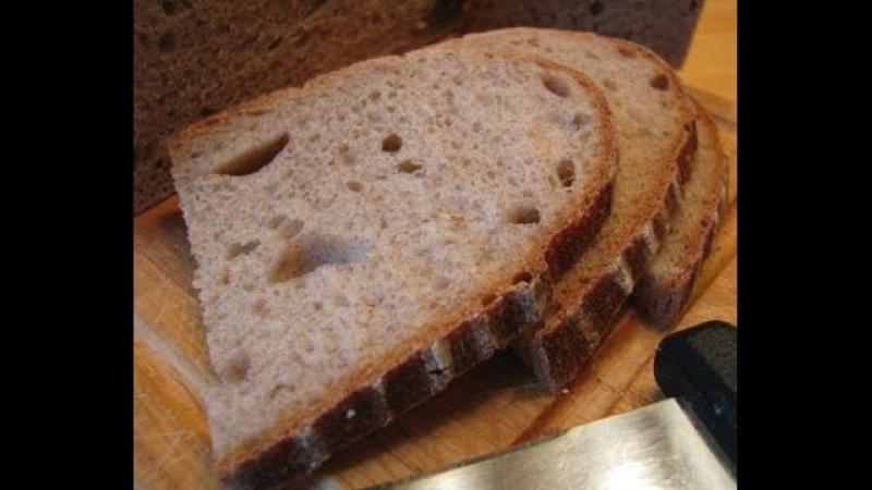 Хлеб на закваске на 1 2 3